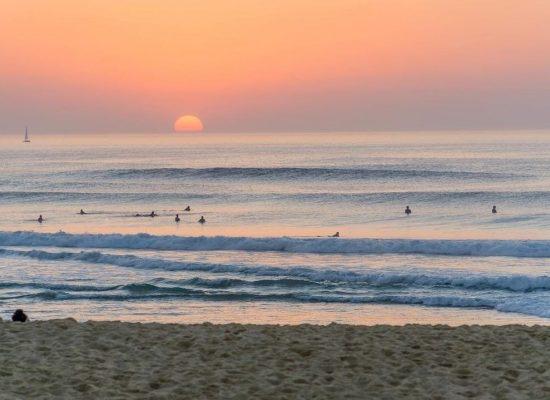 Coucher de soleil ocean | Chill surf School Seignosse