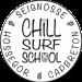 Logo école de surf : Chill Surf School